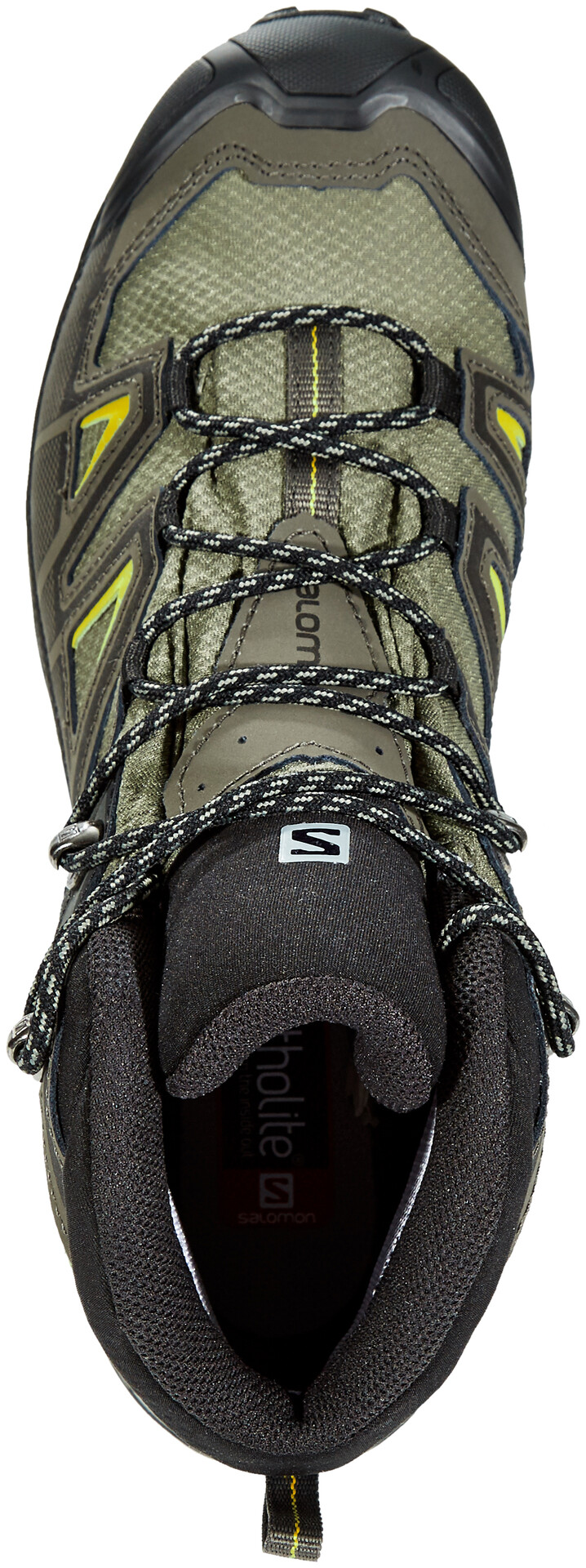 Salomon X Ultra 3 Mid GTX Shoes Herren castor grayblackgreen sulphur